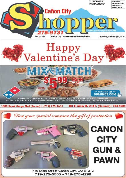 Cañon City Shopper ~ February 12, 2019
